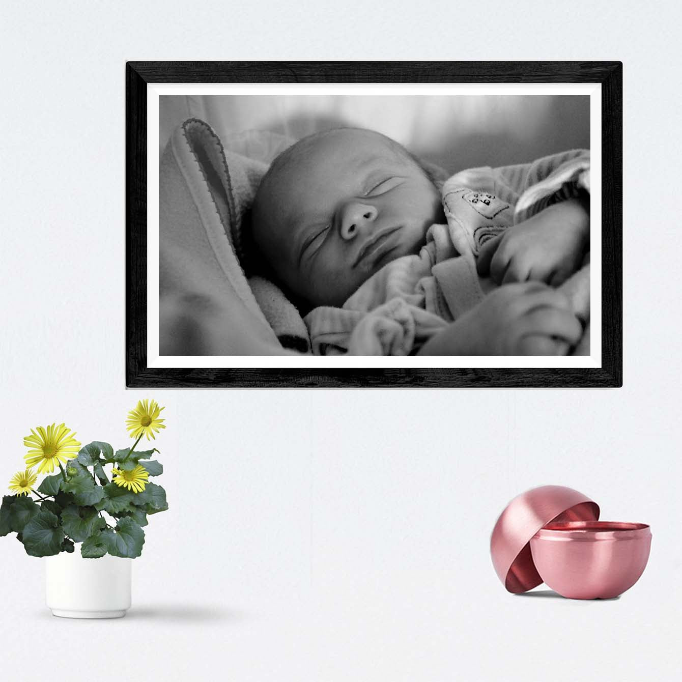 Baby Boy Baby Framed Photography