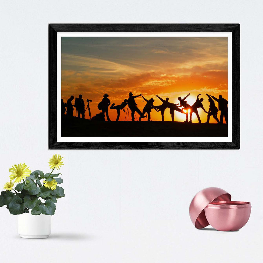 Friends  Framed Photography