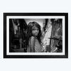 Girl B&W  Framed Photography