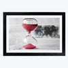 Time Quartz Motivational Framed Photography