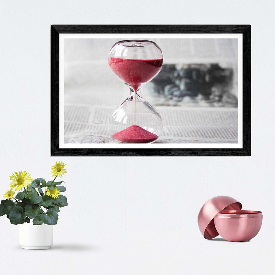 Time Quartz Framed Photography