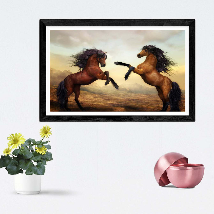 Horses Framed Photography