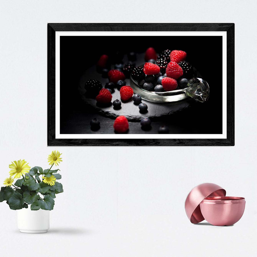 Strawberry Framed Photography