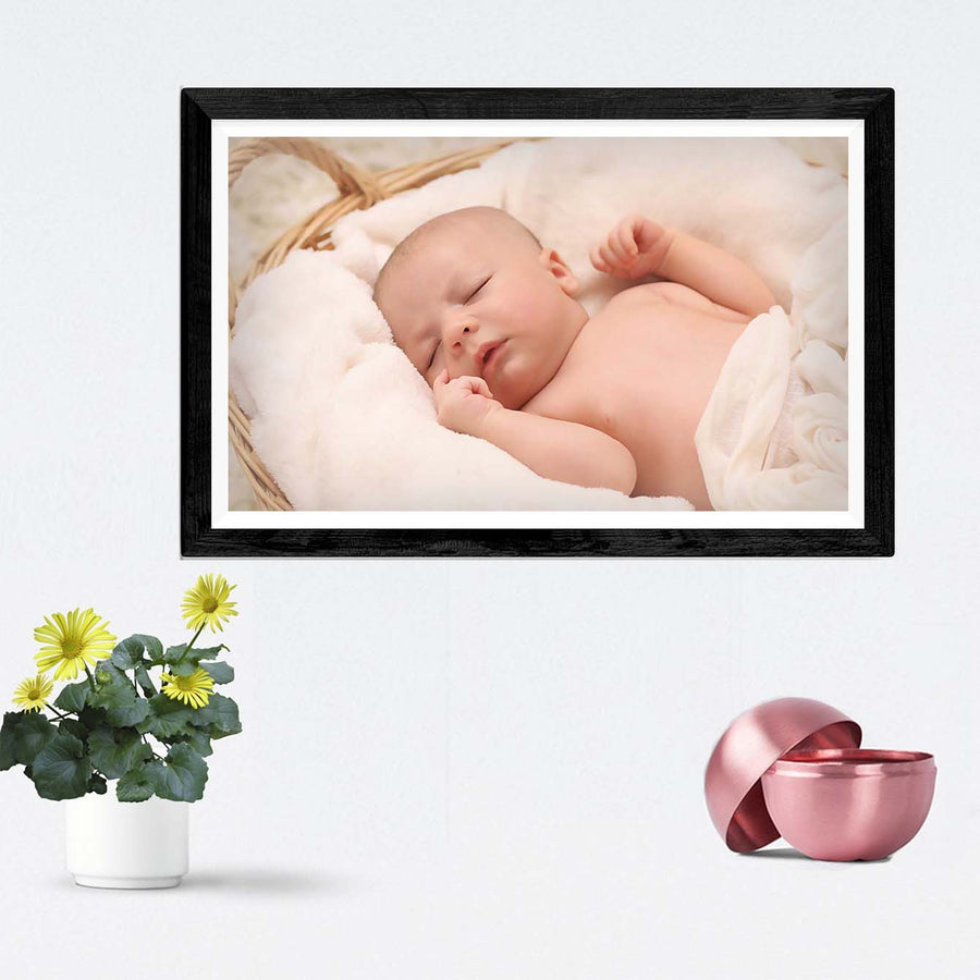 Baby Sleeping Framed Photography