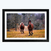 Running Horse Animal Framed Photography