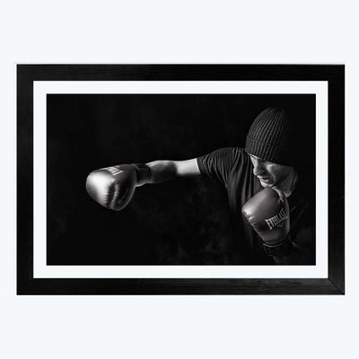 Boxing Gym Framed Photography