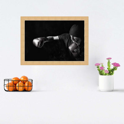 Boxing Framed Photography