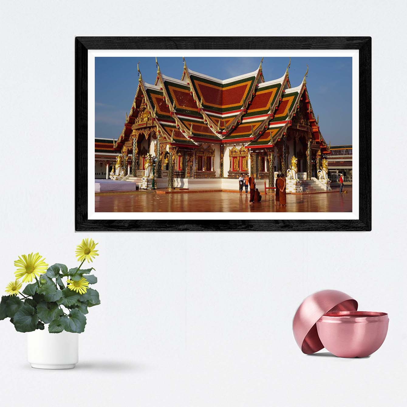 China House  Framed Photography