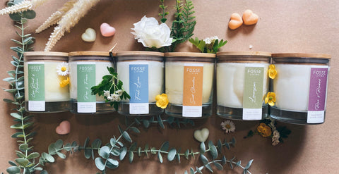 Eco Friendly Natural Candles | Fosse Living