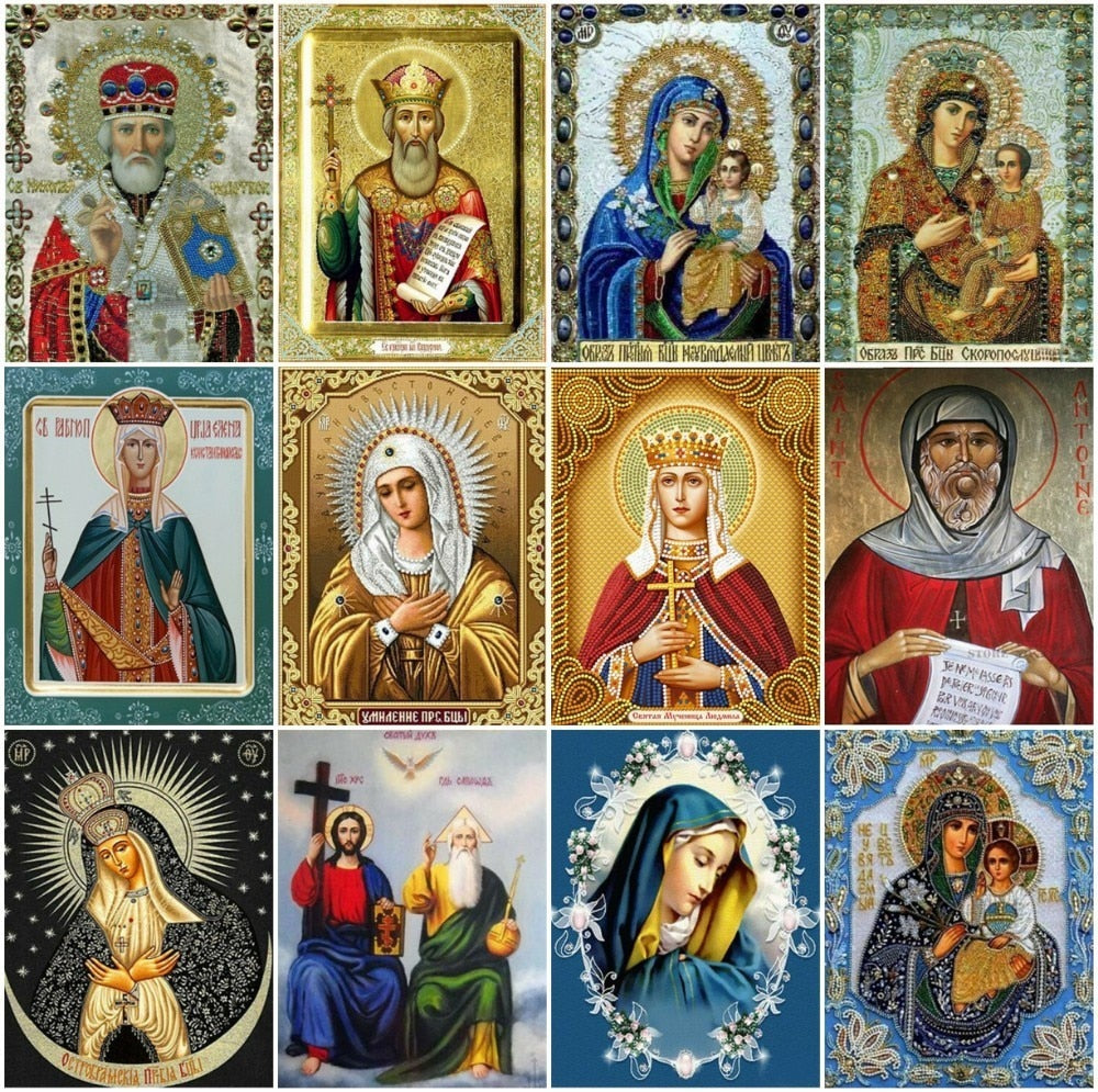 Holy Icons Collage