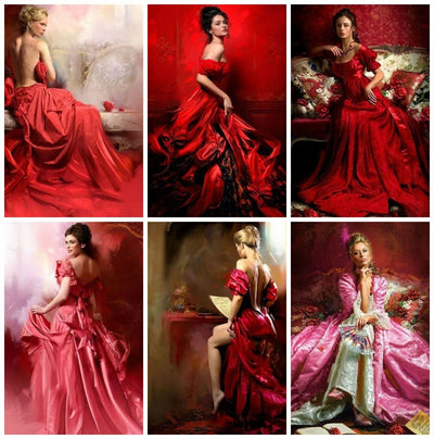 Red Dress Lady