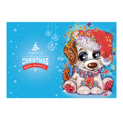 Santa Claus Diamond Postcards