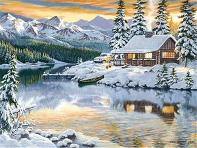 Winter Snow Landscape