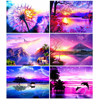 Sunset Art Sets