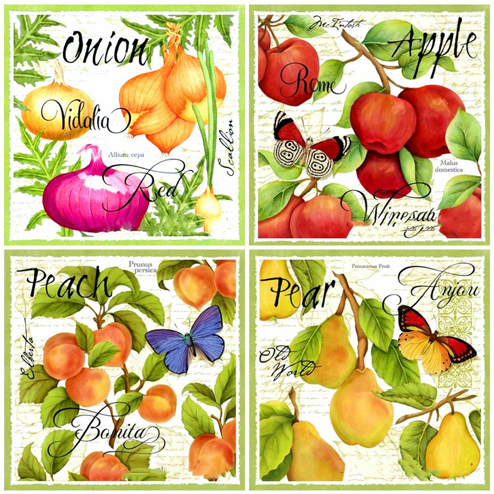 Fruit Art Set