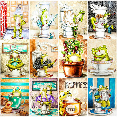 Frogs Illustration Kits