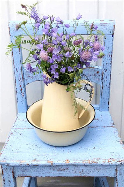 Flower Buckets Scenery