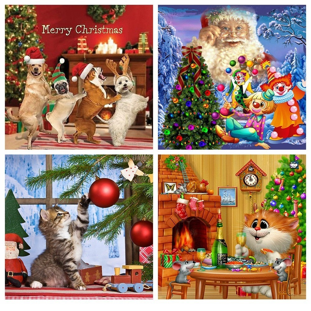 Christmas Animals Set