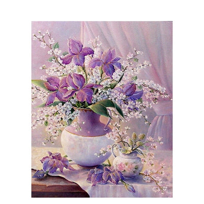 Purple Flower Bouquet