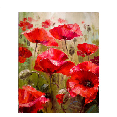 Poppy Flower Art