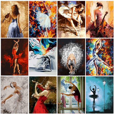 Ballerinas Collage Set