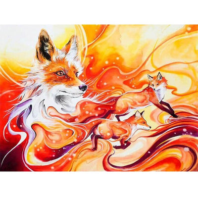 Fire Fox Art