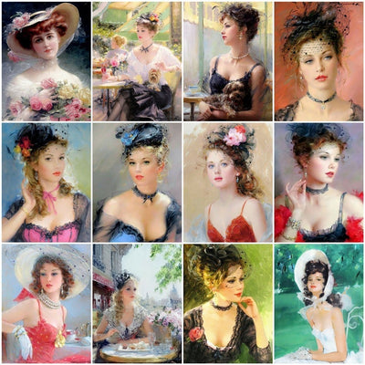 Vintage Beauty Collage