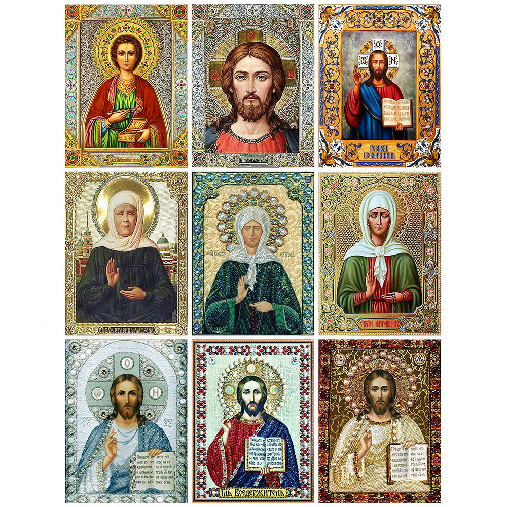 Jesus Collage Set