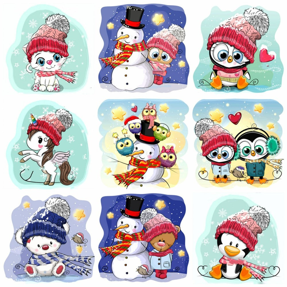Winter Animations Set