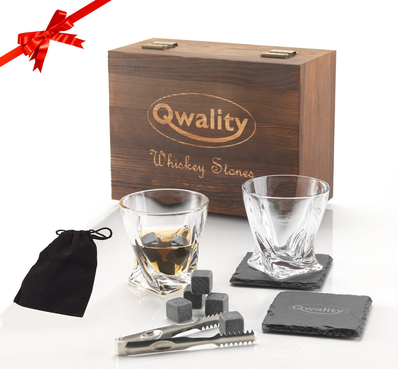 Whiskey Stones Cadeauset - XL