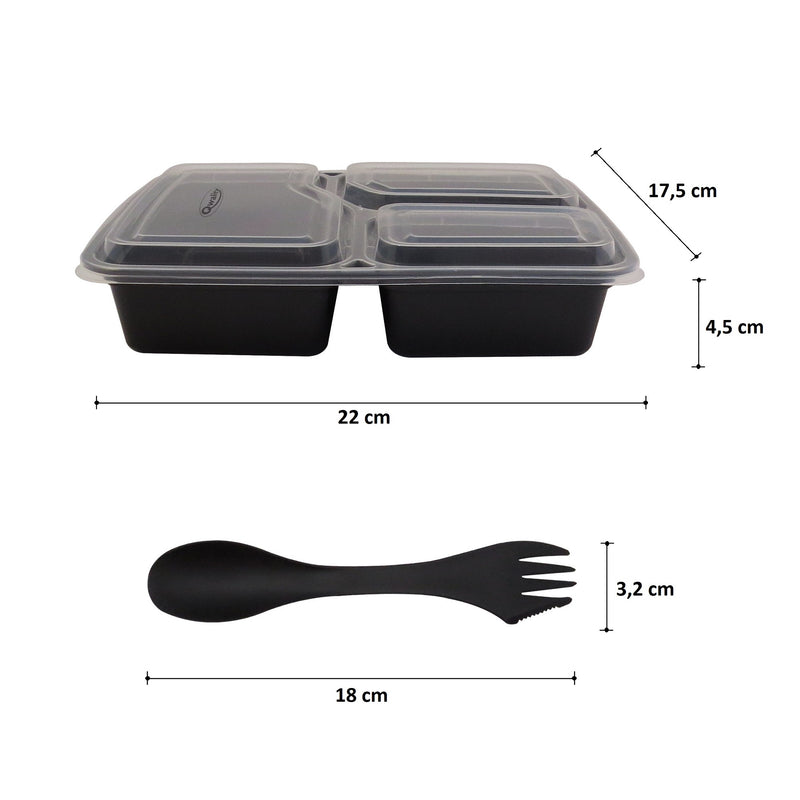Stevige Meal Prep Containers Set