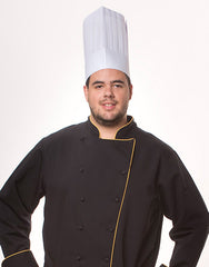 HTP-25 -  Straight Top Executive     Chef Hat (25pcs)