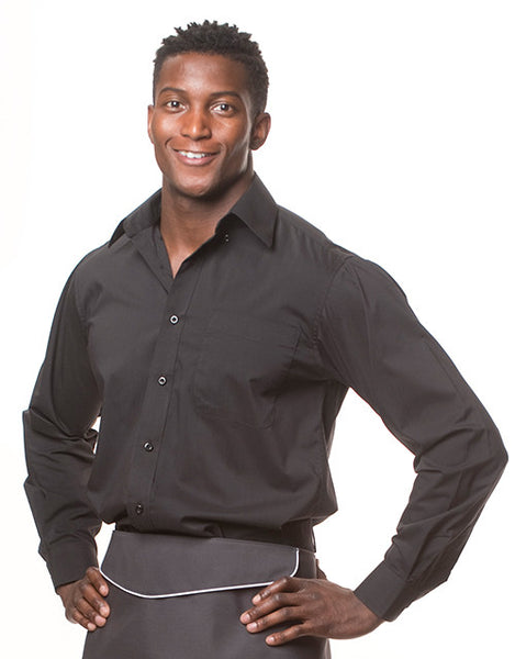 Men's Long Sleeve Server Shirt