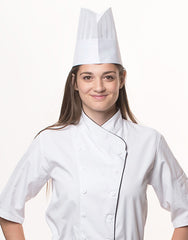 HC-20-Oval Top Culinary Student Hat (50pcs)