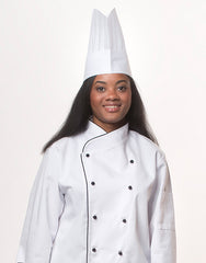 HC-25-Oval Top Executive Chef Hat (50pcs)