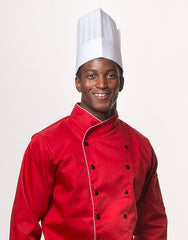 HTP-20  -  Straight Top Chef Hat    (50pcs)