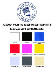New York Short Sleeve Server Shirt