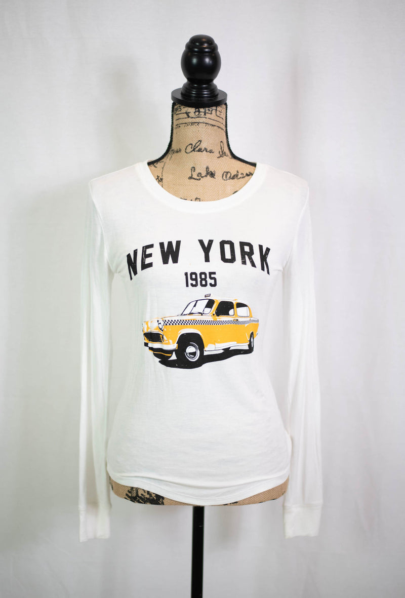 New York City 1985 Taxi Graphic Tee