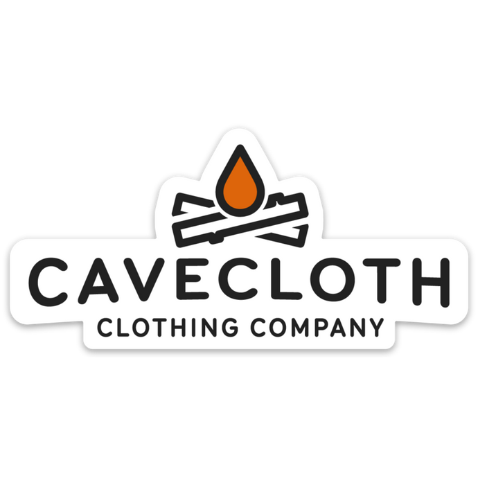 Cavecloth Logo Sticker