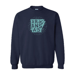 Starry Arkansas Sweatshirt - YOUTH