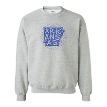 Load image into Gallery viewer, Starry Arkansas Sweatshirt - YOUTH