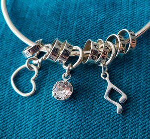 You Are Loved ~ Opening Bangle ~ Additional Charm