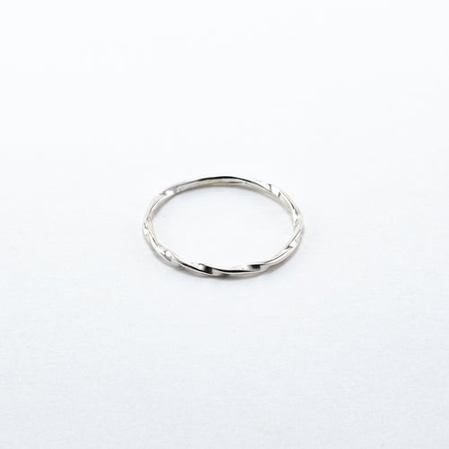 Hand Twisted Thin Ring
