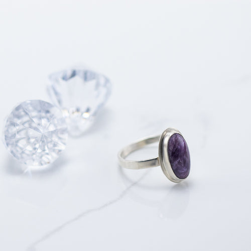 Pretty in Purple Ring
