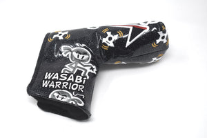 Ninja Warrior Custom Putter Cover - Black