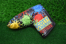 Load image into Gallery viewer, Paintball Splatter Custom Putter Cover - Black