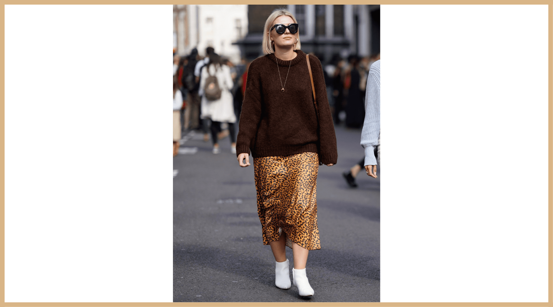 Look leopard et pull