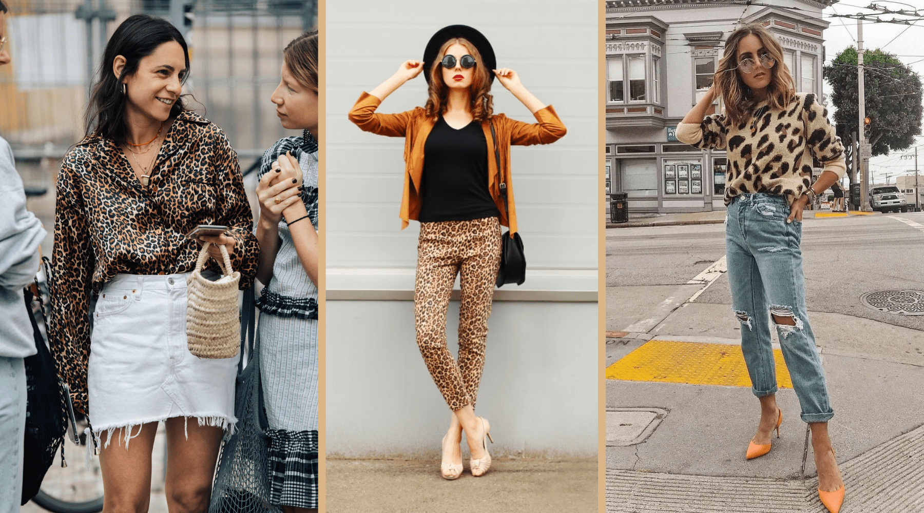 style leopard femme