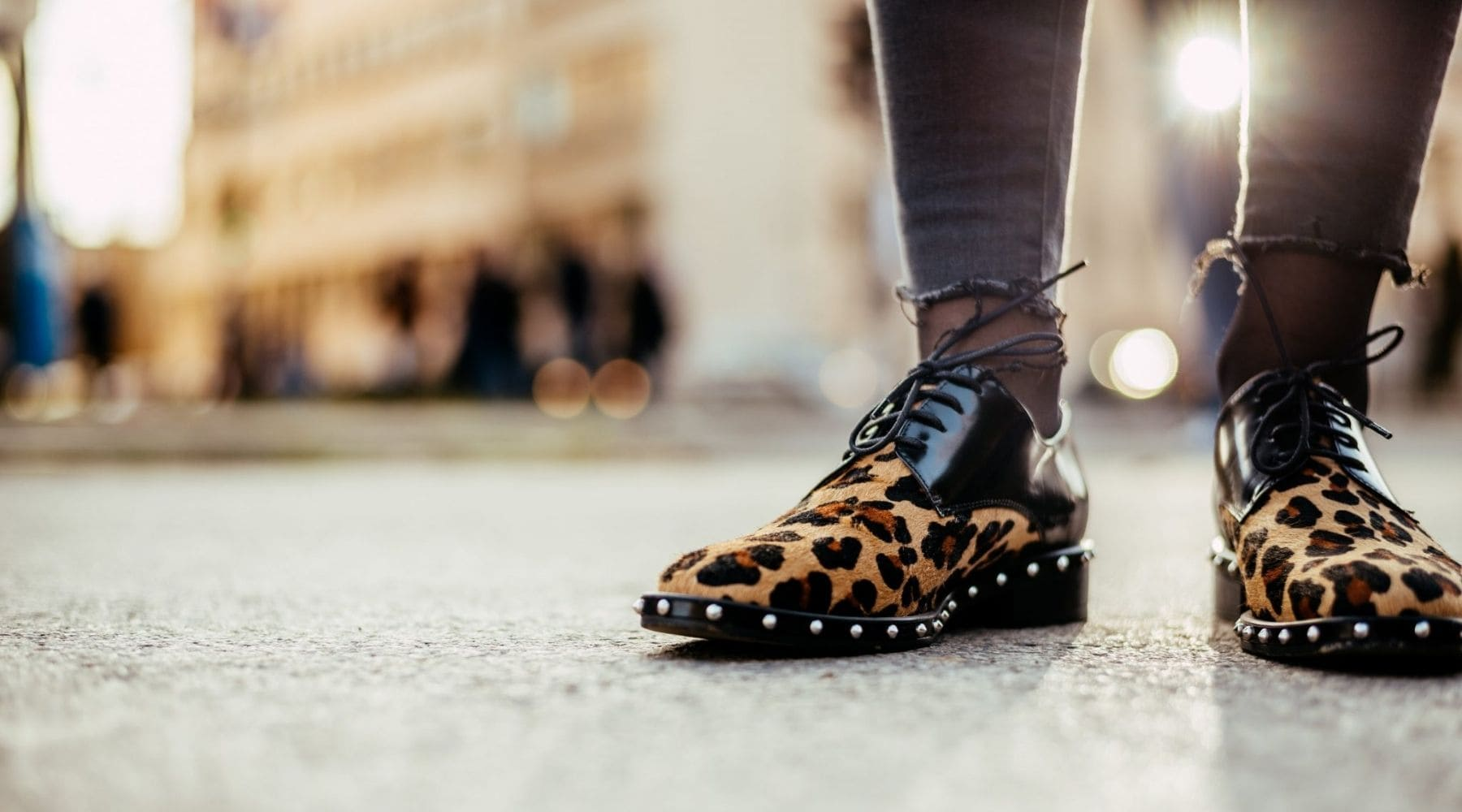Look chaussure leopard