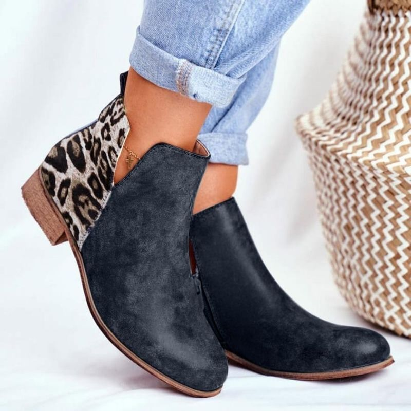 Bottines Léopard Tendances
